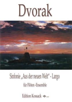 Largo de la Symphonie du Nouveau Monde DVORAK Partition laflutedepan