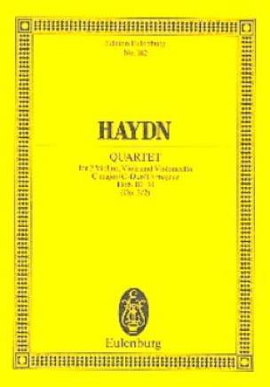 Streich-Quartett C-Dur op. 3 n° 2 - HAYDN - laflutedepan.com