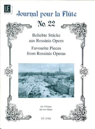 Beliebte Stücke aus Rossinis Opern - 2 Flöten ROSSINI laflutedepan