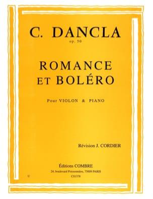 Romance et Boléro Op. 50 DANCLA Partition Violon - laflutedepan