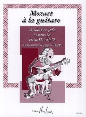 Mozart à la Guitare Kleynjans - MOZART - Partition - laflutedepan.com