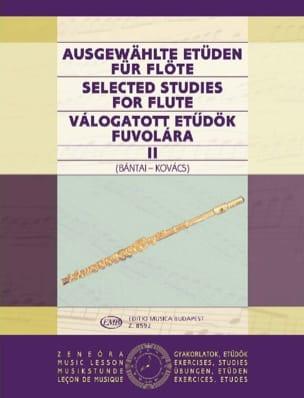 Bantai Vilmos / Kovacs Gabor - Estudios seleccionados para Flute Volume 2 - Partition - di-arezzo.es