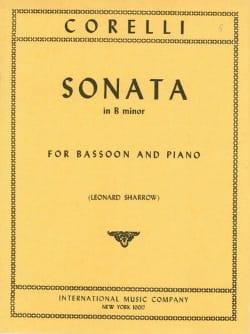 Sonata in B minor op. 5 n° 8 -Bassoon CORELLI Partition laflutedepan