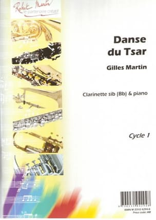Danse Du Tsar Gilles Martin Partition Clarinette - laflutedepan
