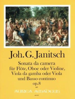 Sonata da camera, op. 8 Johann Gottlieb Janitsch laflutedepan