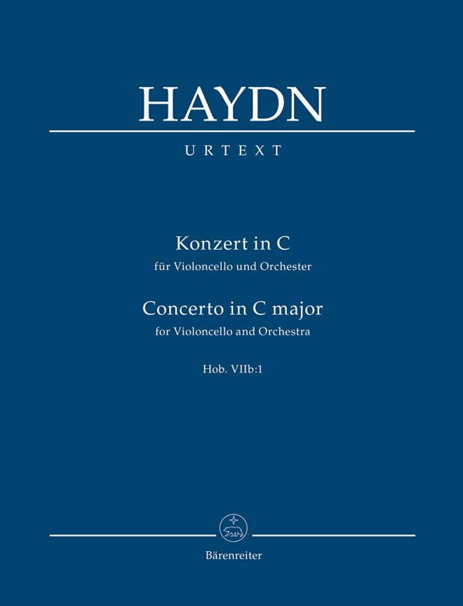 Konzert In C Für Violoncello Und Orchester Hob. V.I.I B : 1 - laflutedepan.com