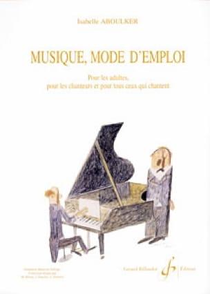 Musique mode d'emploi - Isabelle Aboulker - laflutedepan.com