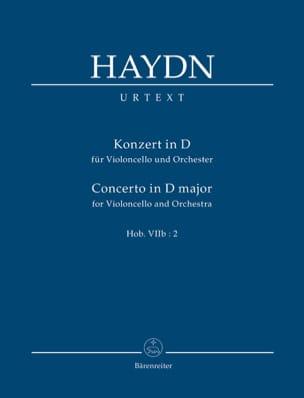 Konzert für Violoncello in D-Dur. Urtext der Haydn-Gesamtausgabe - laflutedepan.com