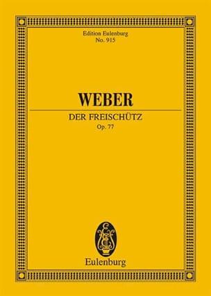Der Freischütz Op. 77 Carl Maria von Weber Partition laflutedepan