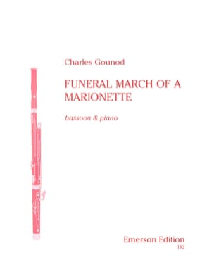 Funeral march of a marionette GOUNOD Partition Basson - laflutedepan