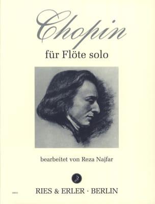Chopin für Flöte solo CHOPIN Partition laflutedepan