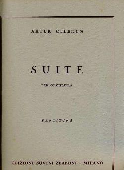 Suite -Partitura - Artur Gelbrun - Partition - laflutedepan.com