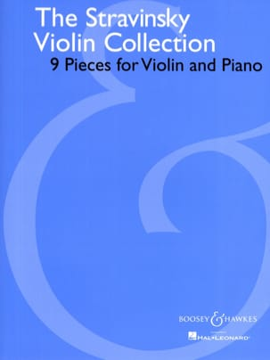 The Stravinsky Violin Collection STRAVINSKY Partition laflutedepan