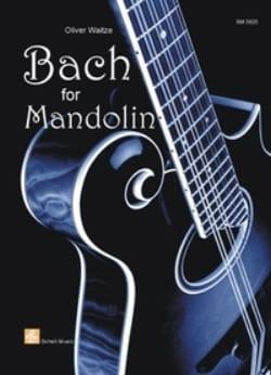 Bach For Mandolin olivier Waitze Partition Mandoline - laflutedepan