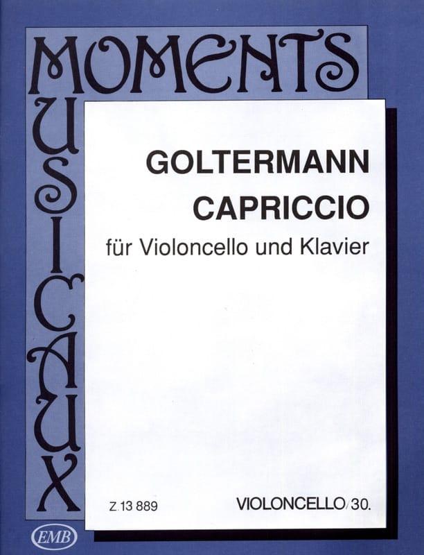 Capriccio - Georg Goltermann - Partition - laflutedepan.com