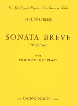 Sonate brève Bucéphale Paul Tortelier Partition laflutedepan