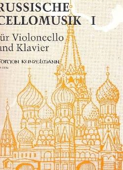 Russische Cellomusik, Bd. 1 Werner Thomas-Mifune laflutedepan