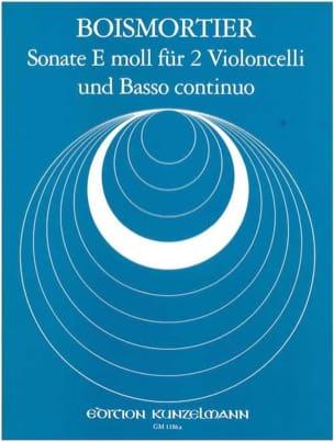 Sonate E moll für 2 Violoncelli und Basso continuo laflutedepan