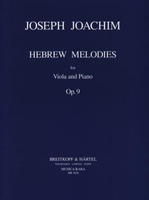 Hebrew Melodies op. 9 Joseph Joachim Partition Alto - laflutedepan