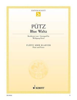 Blue Waltz Eduard Pütz Partition Flûte traversière - laflutedepan