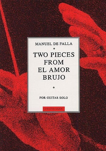 2 Pieces from El Amor Brujo - Guitar solo - laflutedepan.com