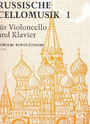 Russische Cellomusik, Bd. 1 - Werner Thomas-Mifune - laflutedepan.com