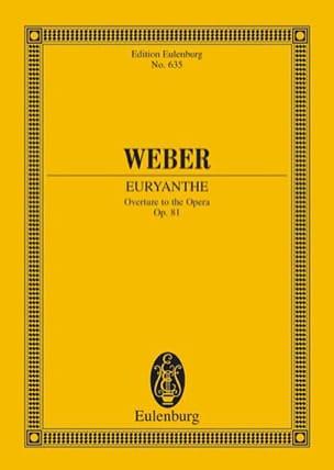 Carl Maria von Weber - Euryanthe, Opening Hours - Partitur - Partition - di-arezzo.co.uk