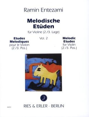 Melodische Etüden - Volume 2 Ramin Entezami Partition laflutedepan