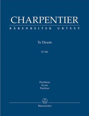 Te Deum - Score CHARPENTIER Partition Grand format - laflutedepan