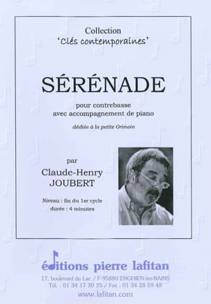 Sérénade Claude-Henry Joubert Partition Contrebasse - laflutedepan