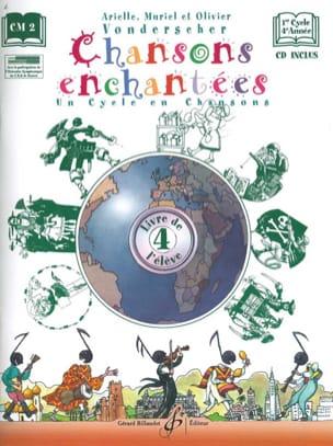 Chansons Enchantées Volume 4 Partition Solfèges - laflutedepan