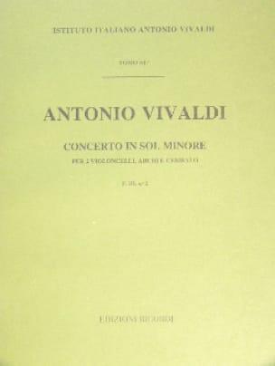 Concerto en sol min. - F. 3 n° 2 - Partitura - laflutedepan.com