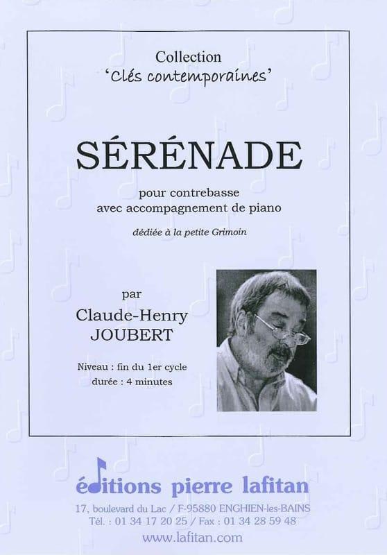 Sérénade - Claude-Henry Joubert - Partition - laflutedepan.com