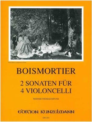2 Sonates pour 4 violoncelles op. 34 / 3 BOISMORTIER laflutedepan