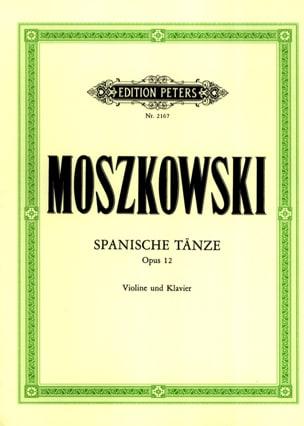 Spanische Tänze op. 12 - Violin Moritz Moszkowski laflutedepan