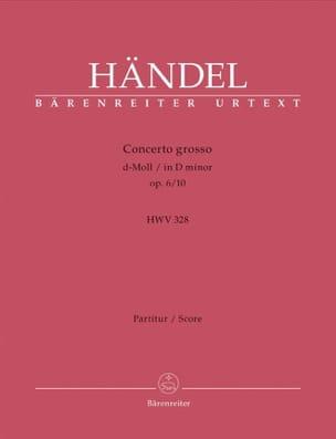 Concerto Grosso d-Moll op. 6/10 - Partitur HAENDEL laflutedepan