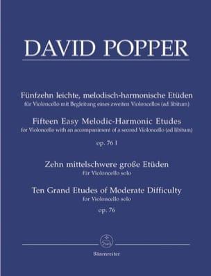 15 Leichte Etüden op. 76/1 - 10 Grosse Etüden op. 76/2 laflutedepan