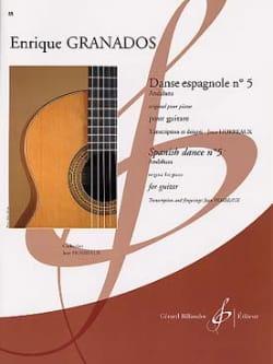 Enrique Granados - Spanischer Tanz Nr. 5 - Partition - di-arezzo.de