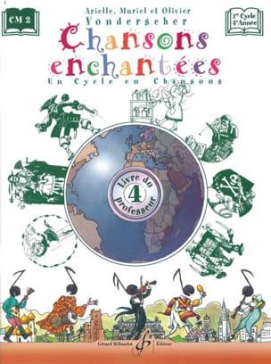 Chansons Enchantées Volume 4 - Prof. Partition laflutedepan