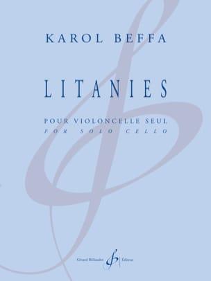 Litanies - Violoncelle Solo Karol Beffa Partition laflutedepan