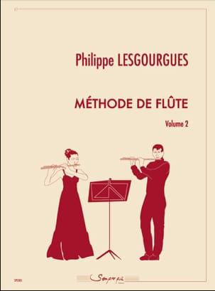 Méthode de Flûte - Volume 2 Philippe Lesgourgues laflutedepan