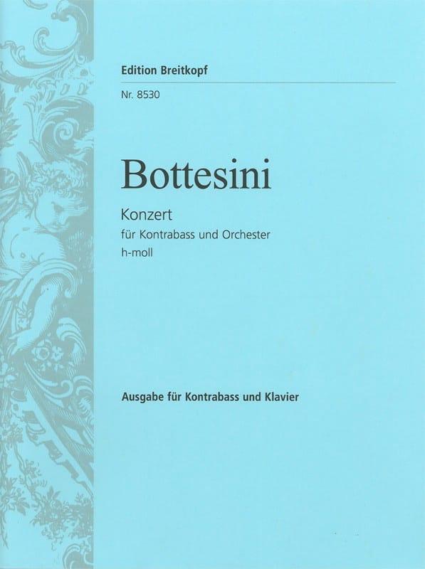 Concerto in B minor - Double bass - BOTTESINI - laflutedepan.com