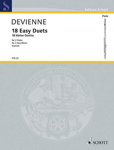 18 Kleine Duette - 2 Flöten - DEVIENNE - Partition - laflutedepan.com