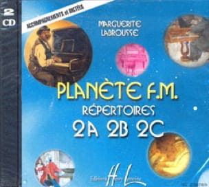 CD - Planète FM Volume 2 - Accompagnements - Dictées - laflutedepan.com