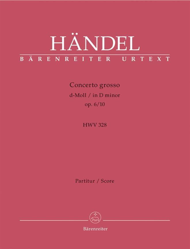 Concerto Grosso d-Moll op. 6/10 - Partitur - laflutedepan.com