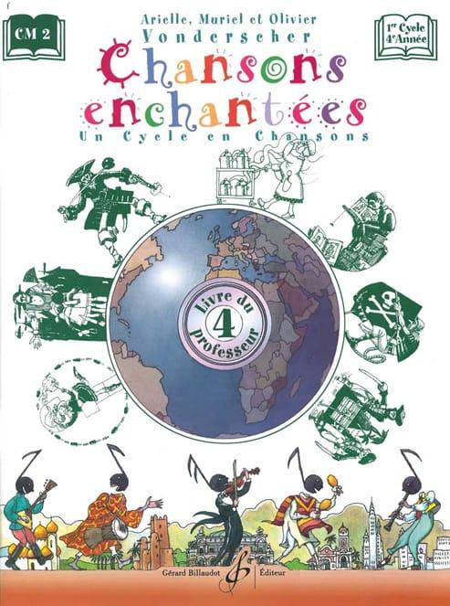 Chansons Enchantées Volume 4 - Prof. - laflutedepan.com