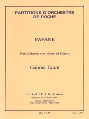Pavane op. 50 - Conducteur FAURÉ Partition Petit format - laflutedepan