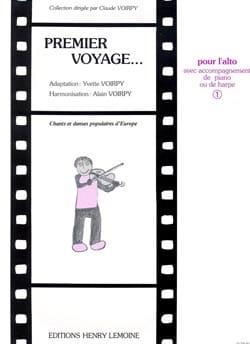 Premier Voyage Volume 1 - Alto laflutedepan