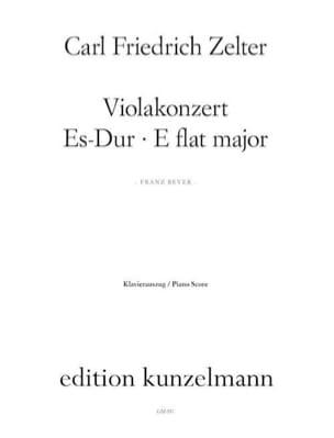 Viola Konzert Es Dur Carl Friedrich Zelter Partition laflutedepan