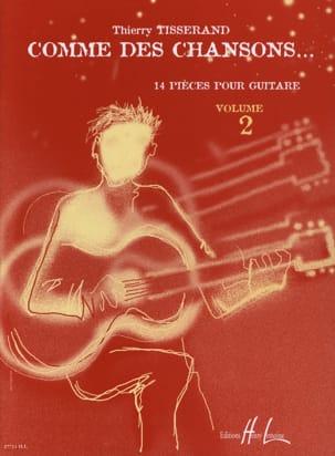 Comme des chansons... - Volume 2 TISSERAND Partition laflutedepan